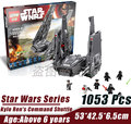 LEPIN 05006 Force Awakens Kylo Ren s Command Shuttle Star Wars Minifigure Building Block Bricks Toys