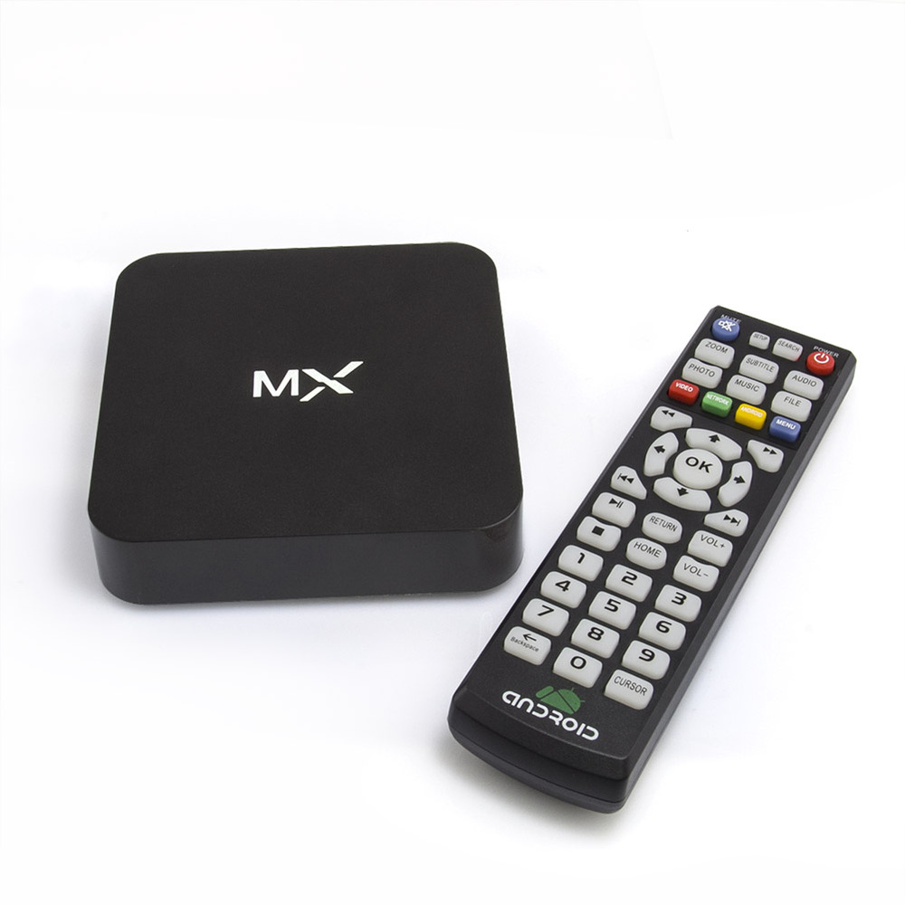 NEW Black Amlogic S805 Quad-Core 1GB DDR3/8GB Smart Tv Box XBMC FULLY LOADED WiFi 1080P H.265 HD Media Player+Remote Control(China (Mainland))