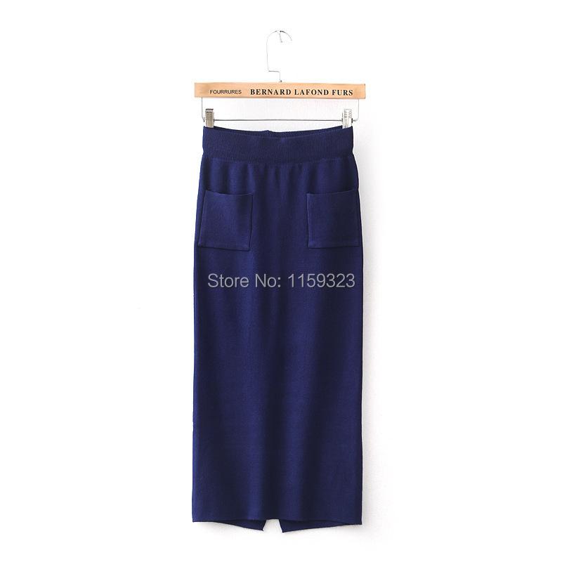 Женская юбка Brand New Elegent 49 2015 new brand female elegent style 100