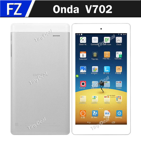 """In Stock Original Onda V702 7"""" 7 Inch HD Screen Android 4.4 Allwinner A33 Quad Core 8GB Tablet PC OTG Miracast Free Shipping(China (Mainland))"""