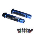 CNC Universal 7 8 22MM Motorcycle Handlebar Grips Handle CAPS Handle bar Grip Street Racing Moto