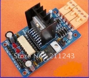 L298N   Stepper Motor Driver Board Modules Dual H Bridge Stepper Motor Robot   FOR HOT SALE High Quality