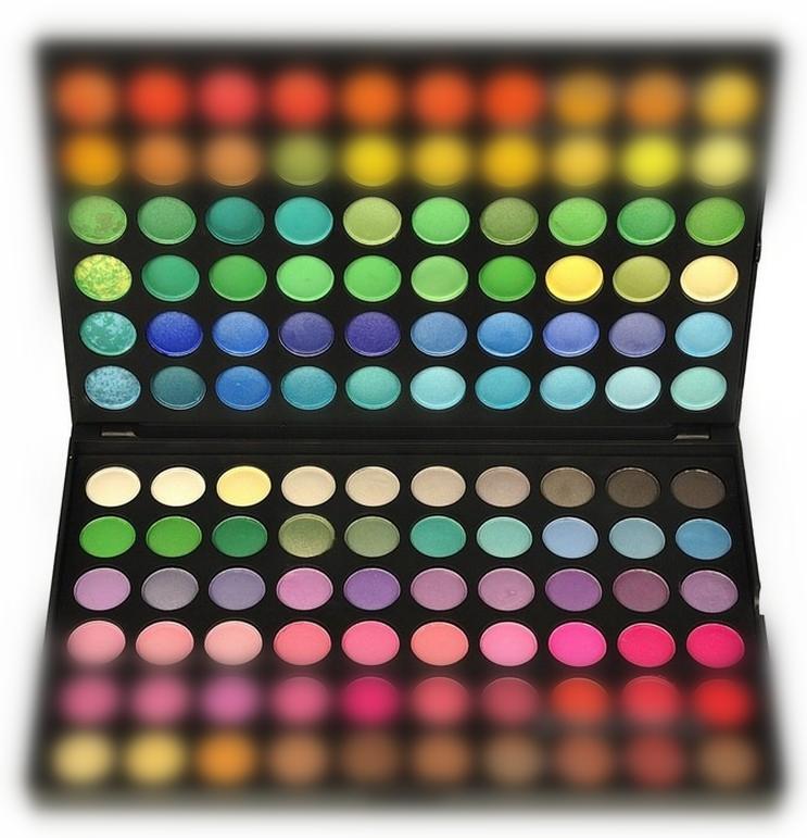1SET/120 Colors Natural Shimmer + Matte Eyeshadow Palette Shinny Eye Makeup Set Rich Pigment Long Lasting Free shippingXES014(China (Mainland))