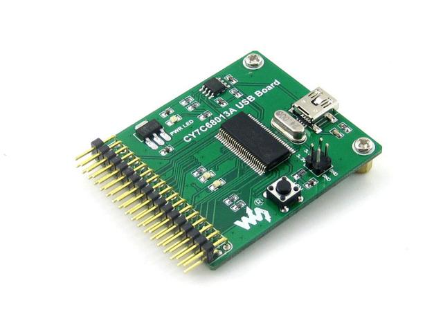 [Midas] Free Shipping 1 PCS/LOT CY7C68013A USB Mini Communication Embedded 8051 Microcontroller Development Board