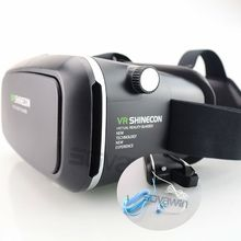 Shinecon VR Virtual Reality 3D Glasses Google Cardboard Headset Oculus Rift Head Mount VR BOX 2