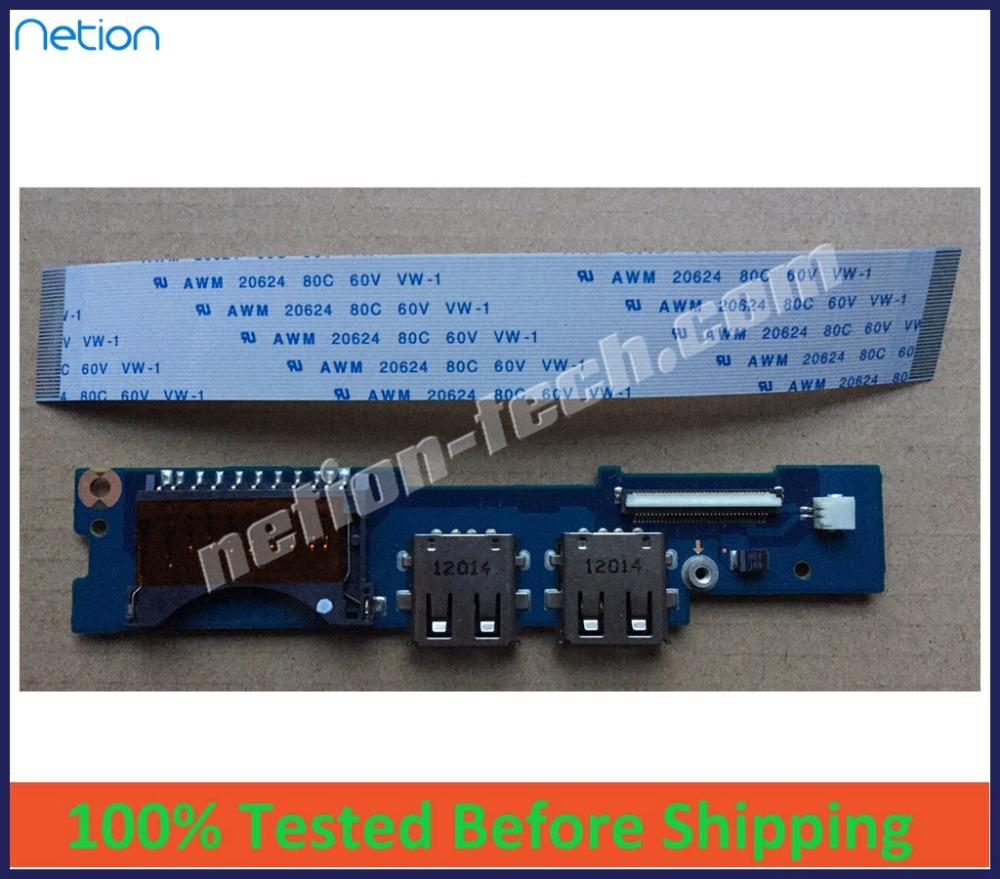 NEW original USB Card Reader Board BA92-09691A LOTUS13-R/T FOR Samsung NP530U3B NP530U3C 535U3C 532U3C 540U3C with cable(China (Mainland))