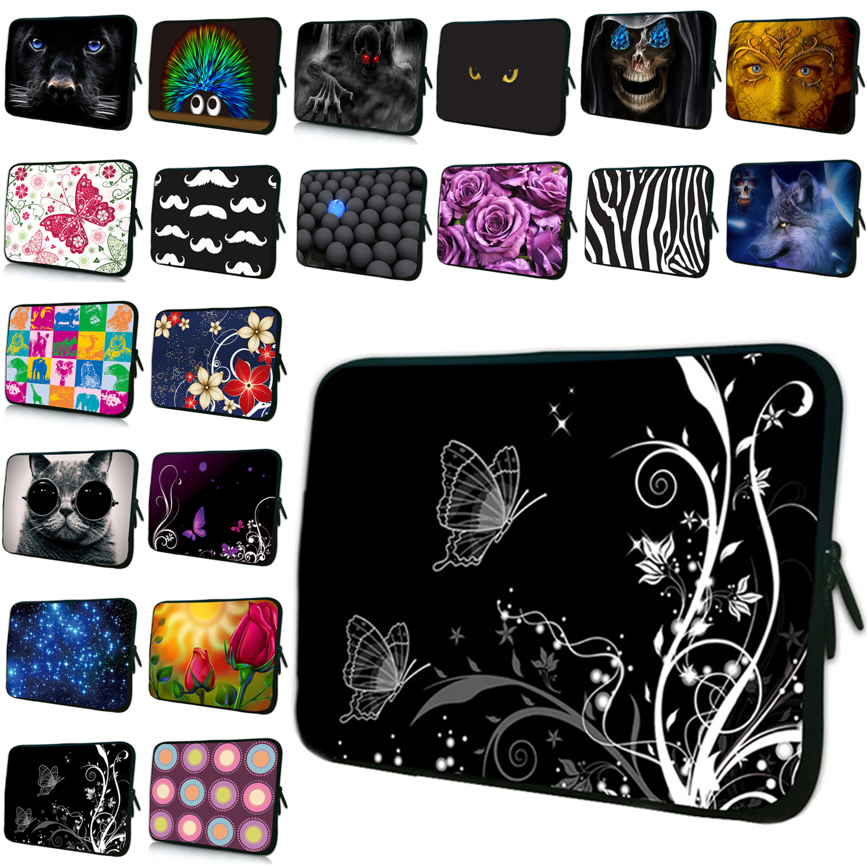 Girl's Fashion E-book Tablet PC Cover Cases 7 8.0 7.9 7.7 inch Neoprene Soft Tablet Notebook Bags For Xiaomi PC Huawei Teclast(China (Mainland))