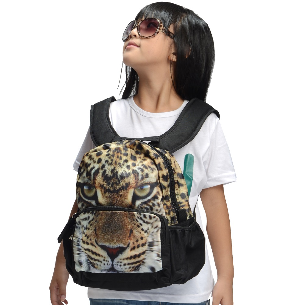 Bistar Brand The Latest Girl Fashionable Backpack Beautiful Leopard Pattern Simple Elegant Atmospheric BBP101S(China (Mainland))