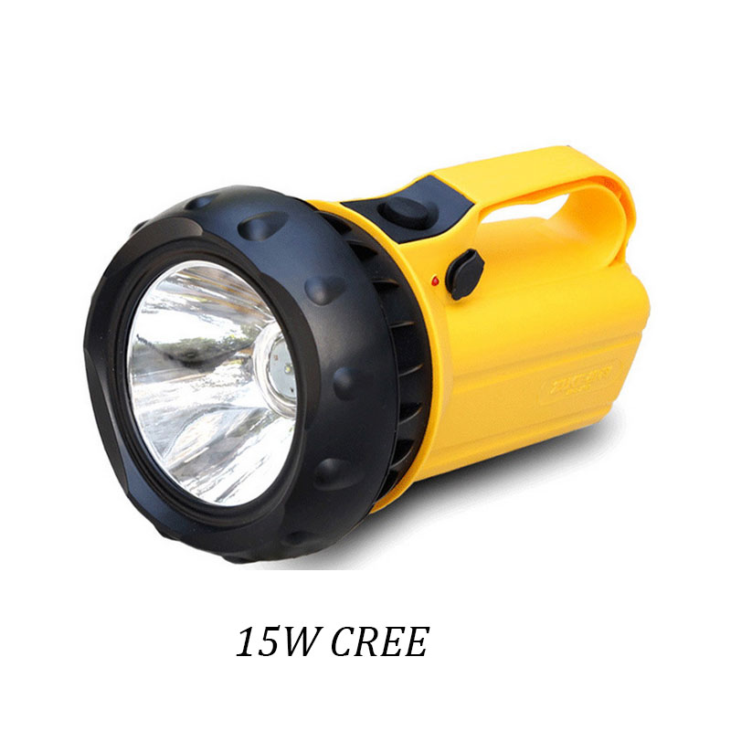 15W Powerful Flashlight Waterproof Led Torch Rechargeable Lanterna Camping Flash Light 1200 Lumens(China (Mainland))