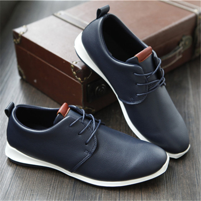 2016 Latest Fashion Men Shoes High Quality Brand Design Men Casual Flats Shoes Male Men Formal Business Leather Shoes Oxford(China (Mainland))