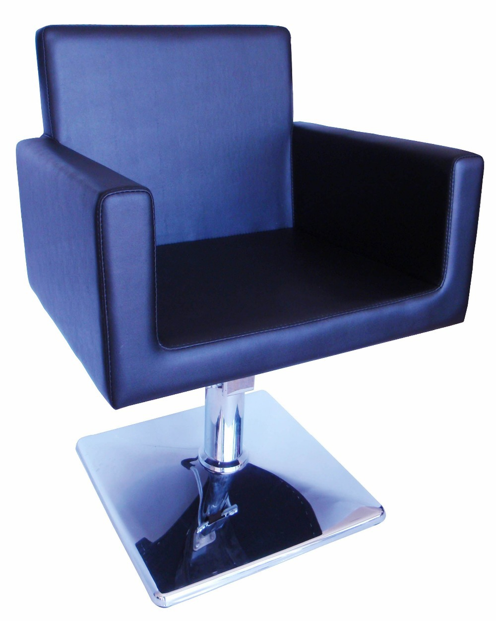 2015 simple and comfortable salon barber chairs with bule for Colored salon chairs