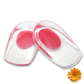 Palmilha Half Rubber PU Gel Insoles Massaging Heel Cushion Foot Care Pads for Shoes Plantar Fasciitis