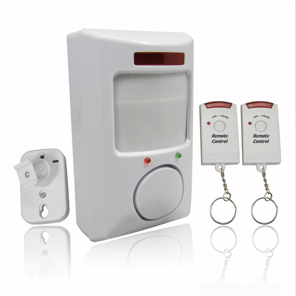 106dB Wireless IR Infrared Remote Security System Motion Detector Alarm NG4S(China (Mainland))