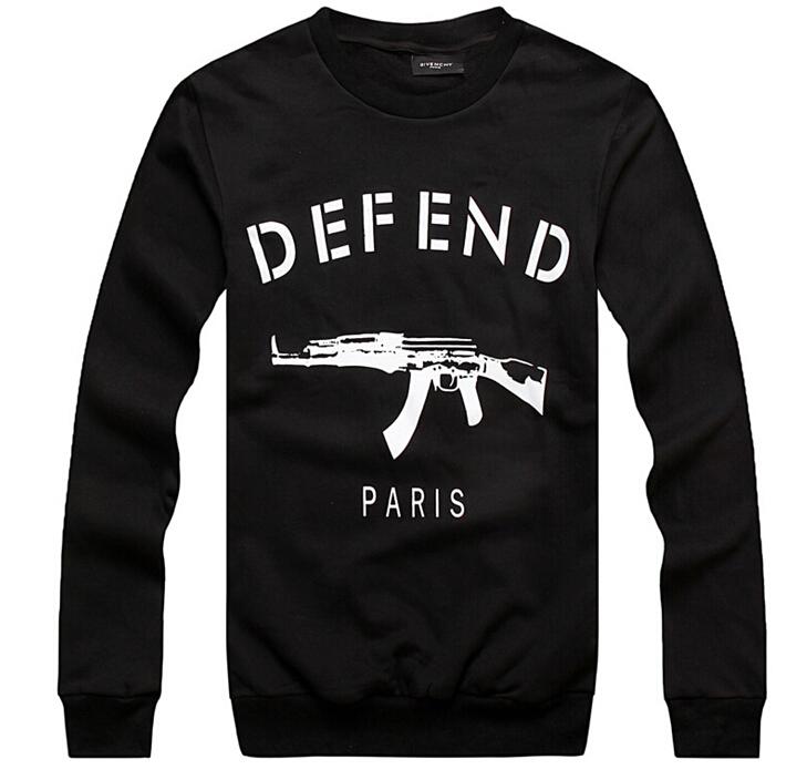 Fall and winter defend paris DEFEND PARIS AK47 Long assassin's creed Sweatshirts Leisure polo hoodies for men new defend paris(China (Mainland))