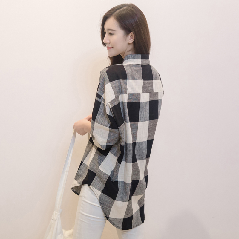 Women Plaid Flannel Shirts
