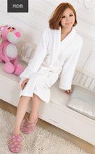 2015 Autumn winter bathrobes for women men  lady's  long sleeve flannel robe  female  male sleepwear  lounges  homewear pyjamas(China (Mainland))