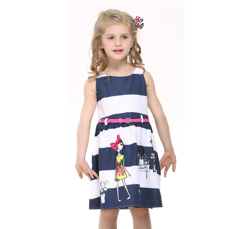 AliExpress.com Product - Baby Girl Dress Cotton Kids Clothes Lovely Girl Dress 2014 New Fashion Dress For Children Wear Hot Top H5613Y