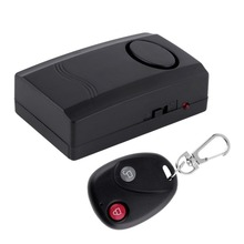 Wireless Remote Control Vibration Alarm Home Security Door Window Car Motorcycle Anti-Theft Security Alarm Safe System Detector(China (Mainland))