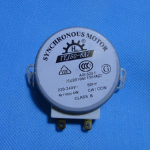 Microwave Oven Turntable Synchronous Motor 4W AC 220-240V 4 RPM CW/CCW