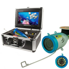"800TVL 12 white brignt /IR LED light 7"" TFT LCD Underwater fishing Camera Fishing finder underwater Video Camera for Fishing(China (Mainland))"