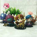 Anime LOL Toys Leona Jax Khazix Gragas Jinx PVC Action Figures Collectible Toys Model boy birthday