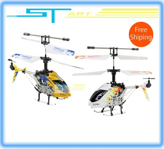 Free Shipping Wholesale Avatar F106 4ch Infared control mini RTF RC Helicopter / Gyro(China (Mainland))