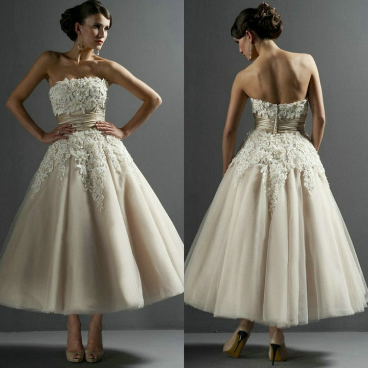 Sexy strapless applique backless ball gowns wedding for Strapless backless wedding dress