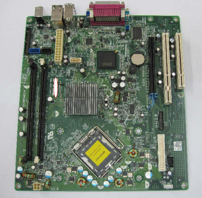HH807 F8098 FOR Dell GX620 Optiplex 620 desktop MOTHERBOARD LGA775 MOTHERBOARD(China (Mainland))