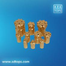 mining tungsten carbides taper button rock drill tool bit(China (Mainland))