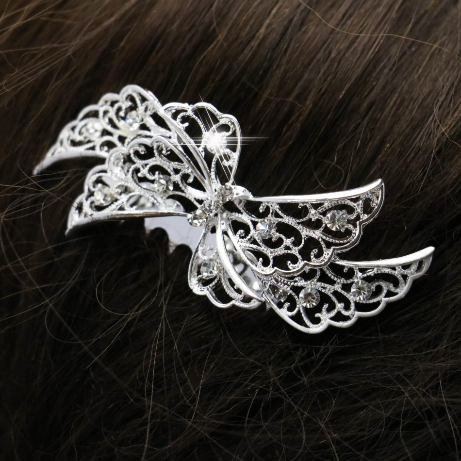 Trendy Hairwear Women Rhinestone Crystals Comb Flower Hair Comb for Wedding Women Jewelry Hair Accessories Bridal Comb 70*56cm(China (Mainland))