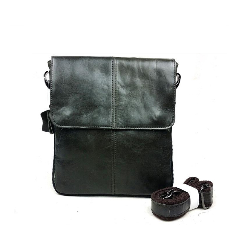 Mens small bags Real cow leather shoulder bags Male causal messenger bags Coffee first layer of genuine vintage handbags<br><br>Aliexpress