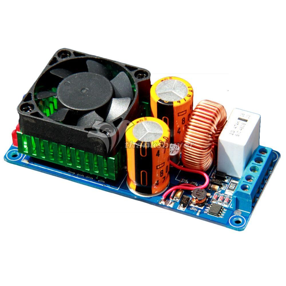 IRS2092S High Power Class D 500W HIFI Single Channel Audio Amplifier Board Better than LM3886 for DIY(China (Mainland))