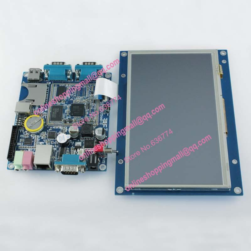 Embedded industrial computer hmi display control board hmi touch screen arm(China (Mainland))
