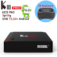 Buy KIII PRO 3GB/16GB Android TV Box Amlogic S912 Octa core Android 6.0 Smart Tv Box 2.4G/5GHz WiFi 4K Set Top Box Free Keyboard for $125.16 in AliExpress store