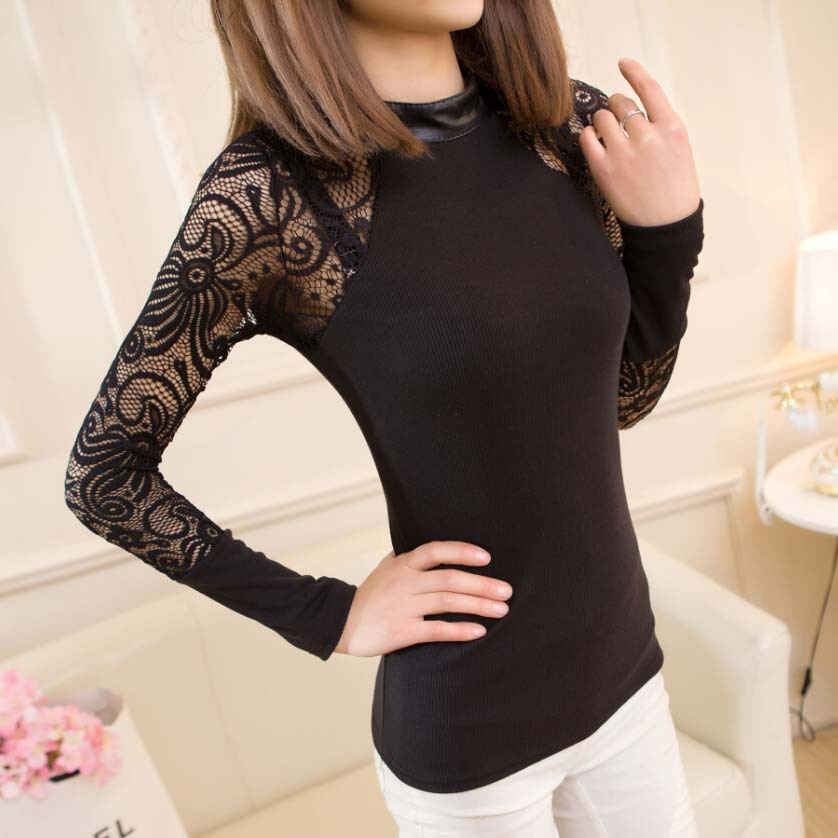 Winter Womens Sweater and Pullovers 2015 New Fashion Long Sleeve Pullover Sexy Mesh Gauze Sweaters Jumper Knitwear Y0114-24D(China (Mainland))