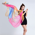 Long Silk Chiffon Scarf New Luxury Brand Flower Scarf Women Designer Scarf Summer Beach Cover Up