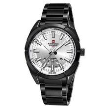NAVIFORCE 2019 nouveau haut marque hommes montres hommes plein acier étanche décontracté Quartz Date horloge mâle montre-bracelet relogio masculino(China)