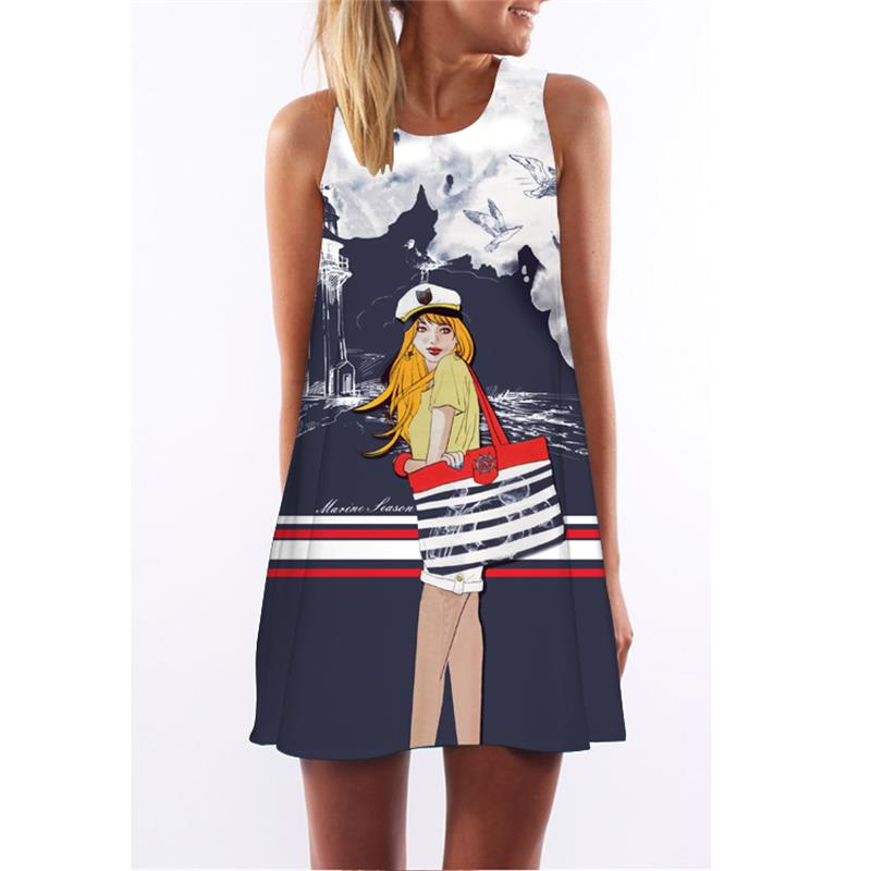 2016 Newest fashion figure sexy and character slim larger size summer dress XL