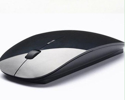 2015 Black Wireless 2.4 GHz USB Optical Mouse For APPLE Macbook Mac Tablet Laptop(China (Mainland))