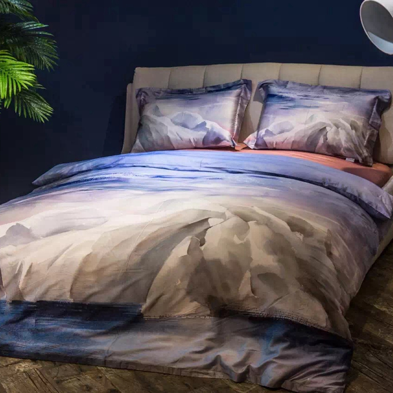 achetez en gros mer housse de couette en ligne des grossistes mer housse de couette chinois. Black Bedroom Furniture Sets. Home Design Ideas