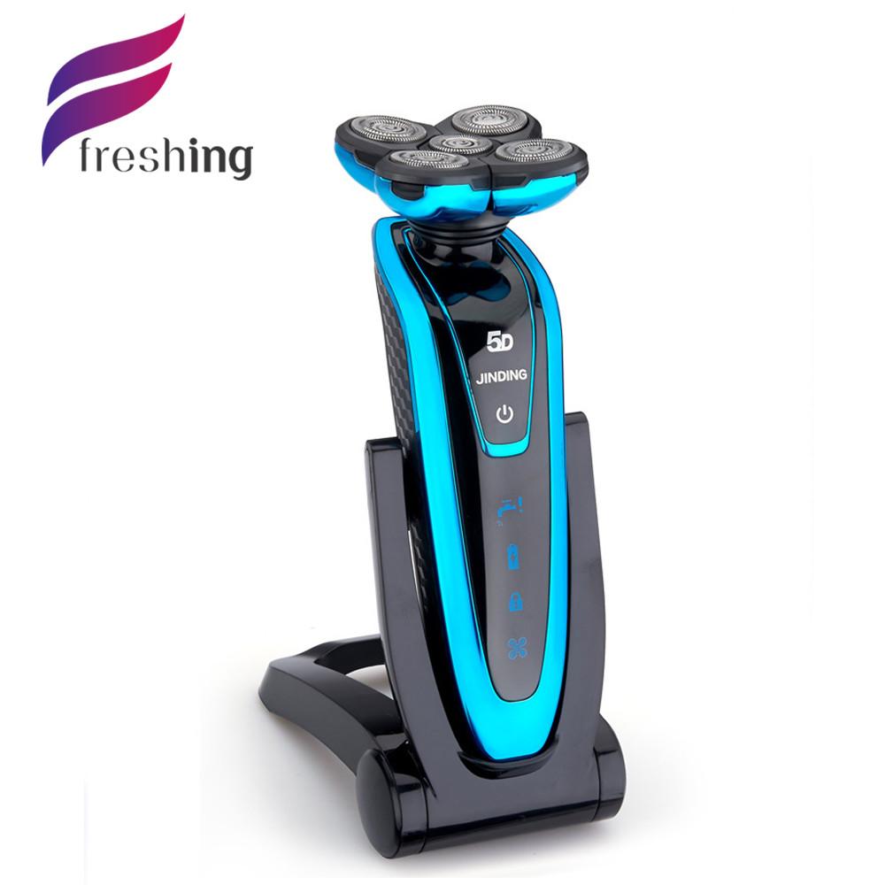 Здесь продается  BRAND electric razor shaver SHAVING 5D Rechargeable Rotary Washable Electric Sideburns trimmer face care original RAZOR for men  Красота и здоровье