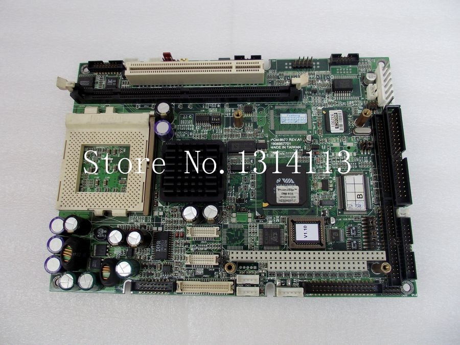 [SAA] Advantech PCM-9577F A1 Socket 370 architecture 5.25 inch single board computer --2PCS/LOT(China (Mainland))