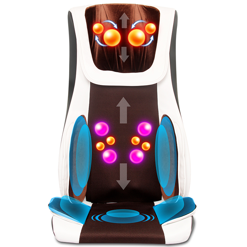 Best Chair Massager Spa Pedicure Chairs S Type Mechanical Hand Massage Pad Body 3D Multifunctional Massage Chair Air Cushion(China (Mainland))