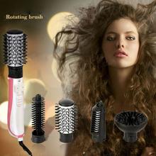 CHJ Multifunctional Hair Dryer professional Automatic Rotating Hair Brush Dryer Ionic Hair Styler Ceramic Styling Tools EU plug(China (Mainland))