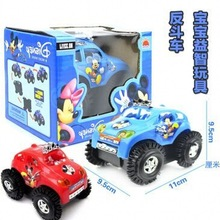 The Most Strange New Stall Selling Children's Toys Electric Gift Mickey Dump Truck Stunt Car Wholesale Mickey(China (Mainland))