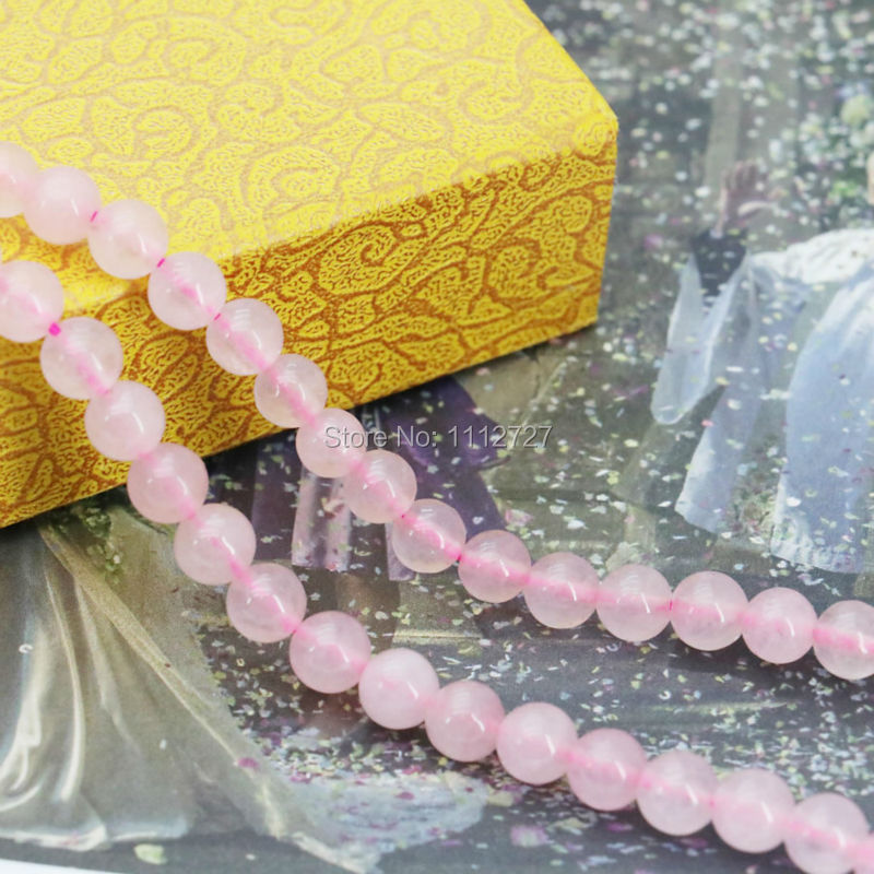 6mm Wholesale Accessories Crafts Loose Beads Jasper Jade Stone DIY Jewelry Making Pink Amethyst Crystal Round Beads Girls 15inch(China (Mainland))
