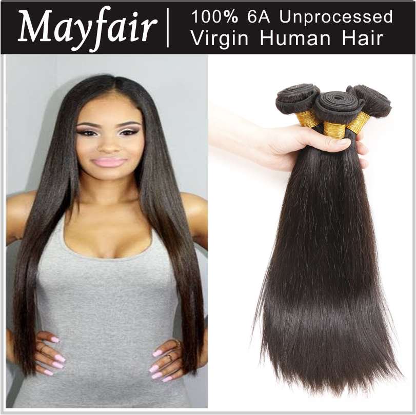 Indian virgin hair straight 1 pc hair sample unprocessed virgin indian hair wet and wavy natural hair extensions factory price(China (Mainland))