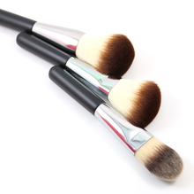 3Pcs Liquid Foundation For Professional Makeup Big Large Powder Blush Brush Set Portable Make up Brushes