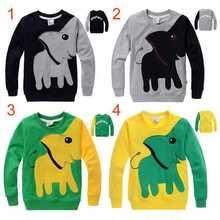 3-7Y Boys outerwear children big eyes Sweater Kis Hoodies child hooded Jacket  Boy Coat Autumn fashion  DF1004(China (Mainland))