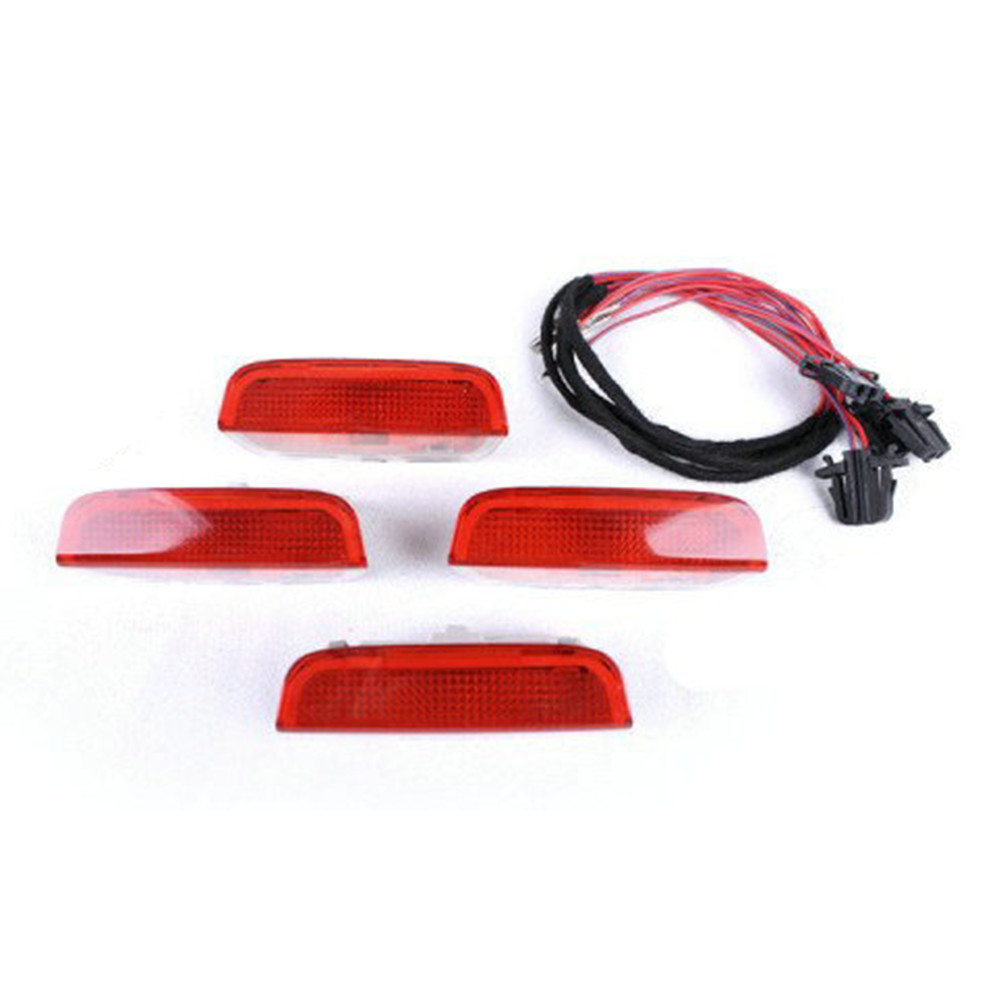 Door Warning Light Kit VW Golf 6 Jetta MK5 MK6 CC Tiguan Passat B6 - Hercolor store